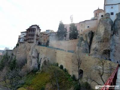 Valle Cabriel-Manchuela conquense;senderismo sierra calderona castillo herrera del duque toloño val